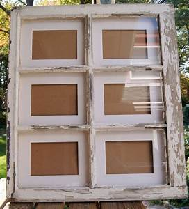 Ideas about window frame decor on old