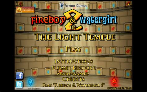 Fireboy And Watergirl Light Temple by And Fireboy 2 Light Temple Decoratingspecial