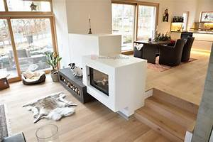 Ofen Als Raumteiler : moderne kamine als raumteiler moderne kamine feuertisch tunnelkamin dreiseitiger kamin marmor ~ Sanjose-hotels-ca.com Haus und Dekorationen