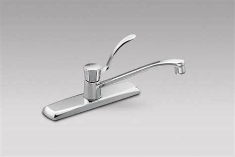 leaky moen kitchen faucet moen 8712 commercial single handle kitchen faucet chrome