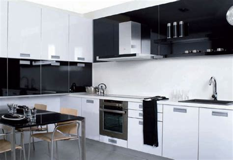 mi casami hogar cocinas modernas en blanco  negro
