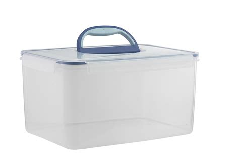 big kitchen storage containers big size food storage container airtight with handle large 4629