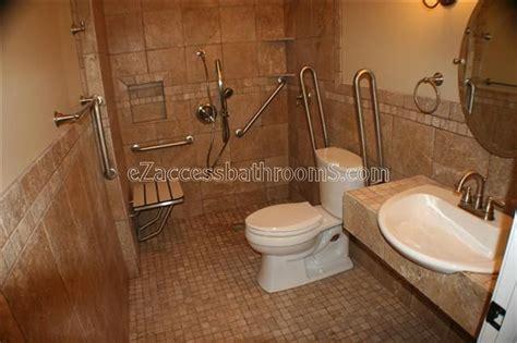 Handicap Bathroom Designs by Best 25 Ada Bathroom Ideas On Handicap