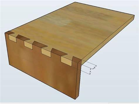 tiroir queue d aronde come realizzare incastri in legno lavorare il legno realizzare incastri in legno