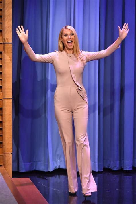 Gwyneth Paltrow On the Tonight Show With Jimmy Fallon - Celebzz