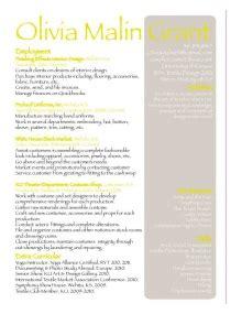Top 10 Textile Designer Resume by Grant Textile Designer Interiors Costume Producer Designer In Chicago Il