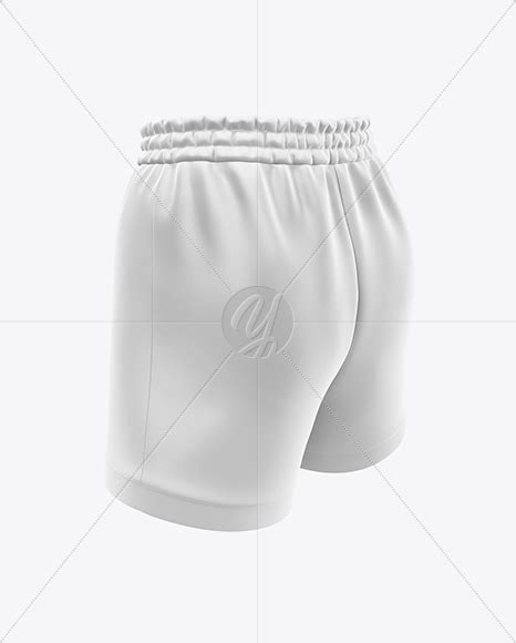 Considering my hdd was busted and all my previous works are gone, uploading here might be a good idea. Women's Basketball Shorts Mockup - Back Half Side View in ...