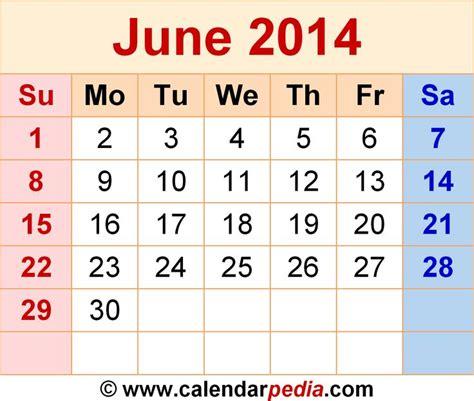 month  june  calendar calendarpediacom