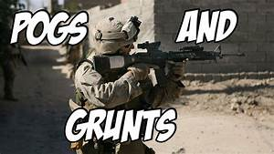 Marine Corps Mondays - POGs and Grunts - YouTube
