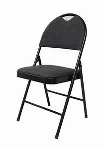 Chaise Tissu Noir : chaise pliante de luxe en tissu noir de gsc walmart canada ~ Teatrodelosmanantiales.com Idées de Décoration