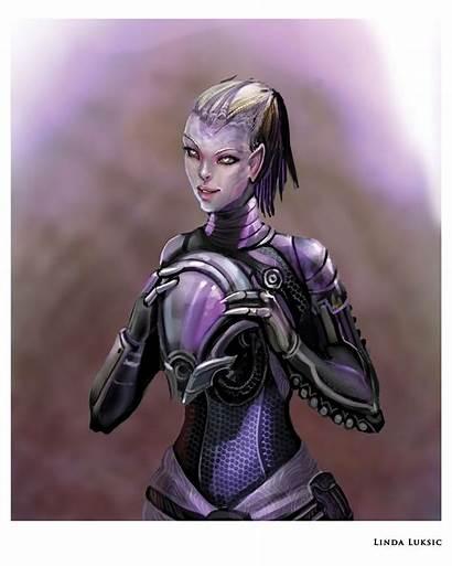 Mass Effect Tali Bioware Fan Luksic Linda