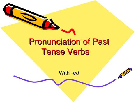 Ed Pronunciation Leslie