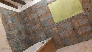 Carrelage Adhésif Salle De Bain Castorama : peinture carrelage sol salle de bain castorama peinture ~ Dailycaller-alerts.com Idées de Décoration