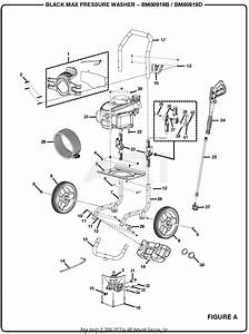 Homelite Bm80919d 2700 Psi Pressure Washer Parts Diagram For Figure A