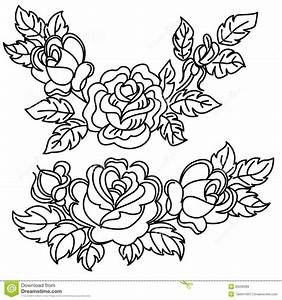 Flower Drawings In Black And White Rose | Bouquet Idea