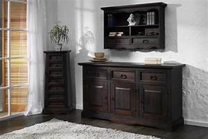 Möbel Dunkles Holz : sideboard glory pinie massiv holz moebel kommode schrank ~ Michelbontemps.com Haus und Dekorationen