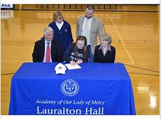 National Letter of Intent Signing at Lauralton Hall