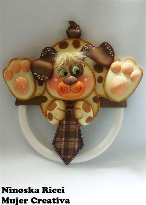moldes gratis perrito guarda corbatas perrito guada corbatas hecho en goma un regalo
