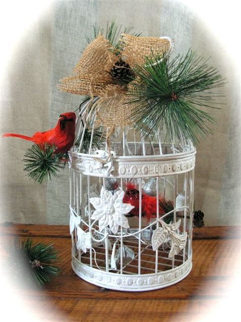 christmas bird cages 1000 ideas about decorative bird houses on pinterest birdhouses rustic birdhouses and
