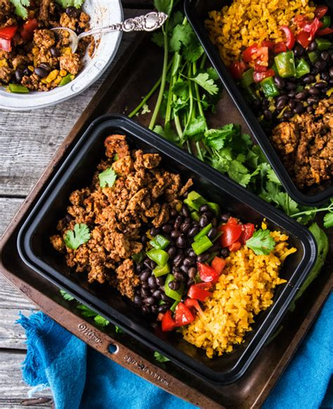 taco healthy bowls meal bowl paleo prep fridge keep week them these
