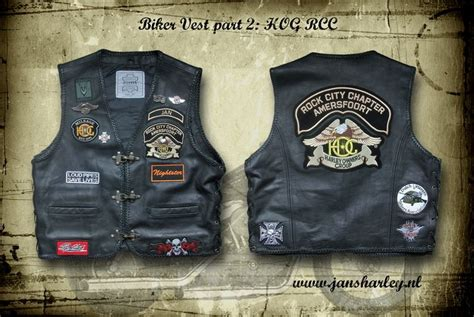 biker vest patch placement motorcycle garage biker