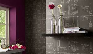 Tapisserie Pour Cuisine : les motifs dont r vent les murs de la cuisine ~ Premium-room.com Idées de Décoration