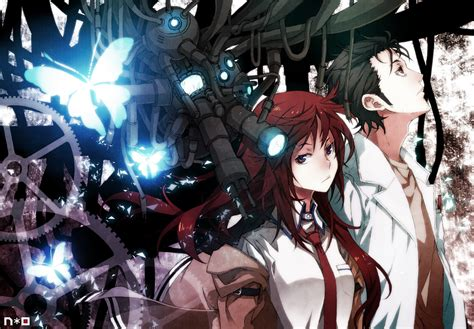Gate Anime Wallpaper - okabe and kurisu wallpaper and background image