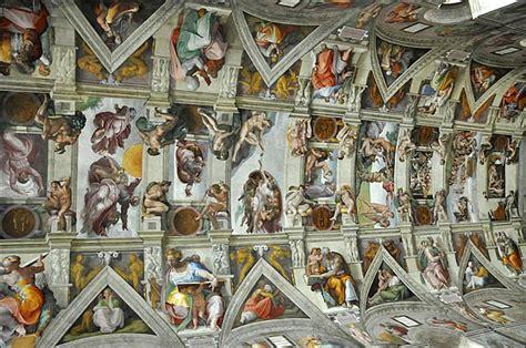 chapelle sixtine michel ange plafond la chapelle sixtine