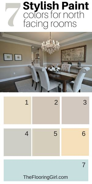 7 stylish paint colors for north facing rooms neutral