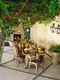 fine italian patio design ideas Create a Tuscan Outdoor Room | Timshel House | Outdoor rooms, Tuscan garden, Outdoor