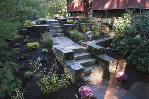 garden slope solutions landscaping ideas for hillside backyard slope solutions install gogo papa