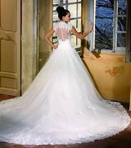 robe de mariee avec traine lomilomifr vetements tendances With robe de mariée avec longue traine pas cher