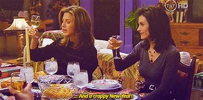 Friends Thanksgiving Episodes Happy Gifs Holiday Serie