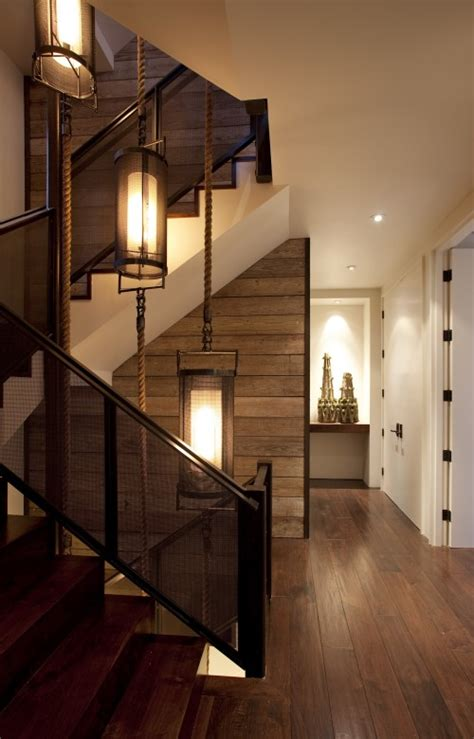 interior design musings stairwell lighting
