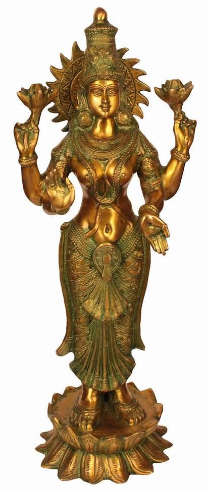Armed Goddess Four Lakshmi