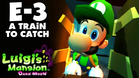 Luigis Mansion Dark Moon Treacherous Mansion E 3 A