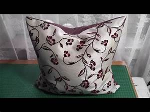 Kissenhülle Mit Reißverschluss Nähen : kissenh lle mit rei verschluss n hen deutsch youtube ~ Yasmunasinghe.com Haus und Dekorationen