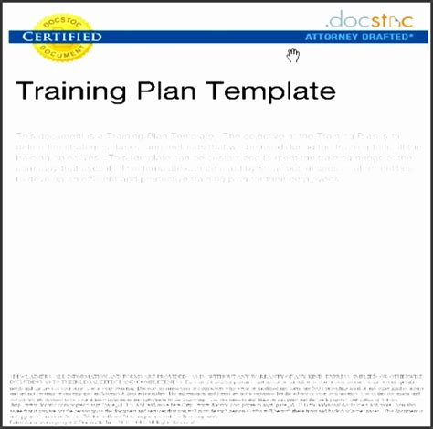 training guide template free 5 training guide template word free sletemplatess