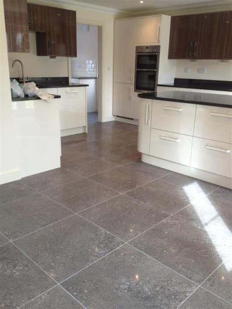 Semi polished porcelain floor tiles   Kitchen ideas