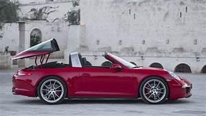 Porsche 4 Places : porsche 911 targa variation au grand air ~ Medecine-chirurgie-esthetiques.com Avis de Voitures