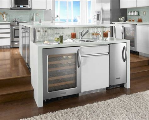 Two Level Custom Kitchen With Wolf And Sub Zero Kitchen