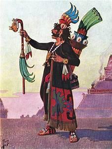Aztecas bajo el Reino del Dios de la Guerra Ilustraciones de Herbert M Herget