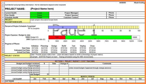 excel report templates 9 construction project progress report template progress report