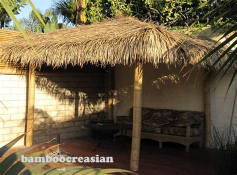 Palapa Thatch by Bamboo Umbrella Bamboo Palapa Bamboo Gazebo Thatch