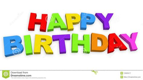 happy birthday letters happy birthday letters stock illustration illustration of