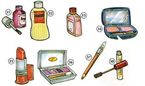 personal care products  dictionary  kids