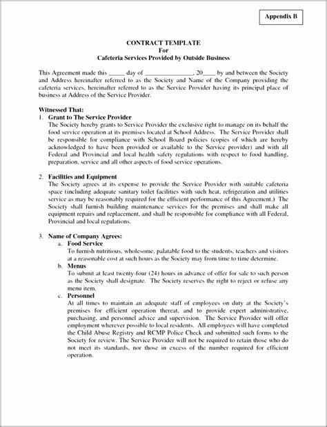 security services contract template eorzu templatesz