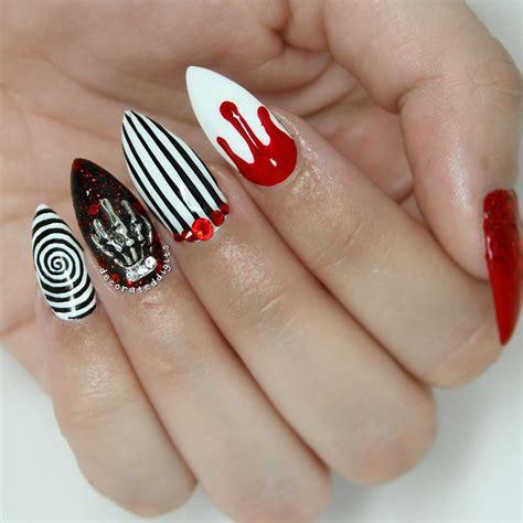 cool halloween nail designs design trends premium psd vector downloads