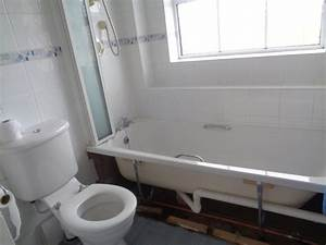 Bathroom fitting service modernises an old bathroom for The bathroom fitting company