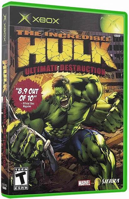 Hulk Incredible Ultimate Destruction Launchbox 3d